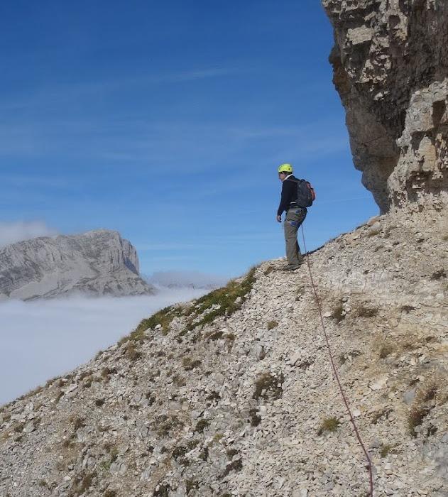ascension-voie-normale-mont-aiguille-alpinisme