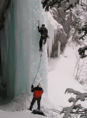 cascade glace vercors alpinisme