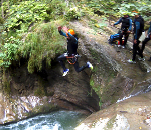 Tcanyoning grenoblie isere vercors alpinisme