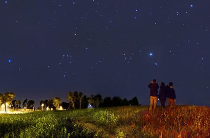 rando nocturne vercors astrologie