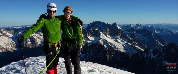 sommet dome ecrins alpinisme